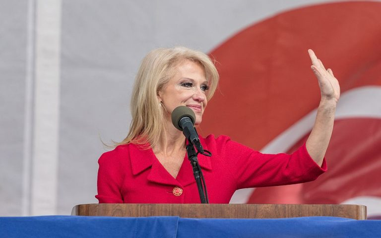 Kellyanne Conway addressing the March for Life