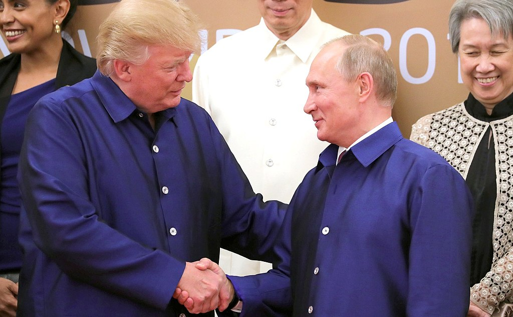 Trump and Putin: the pictures tell the story