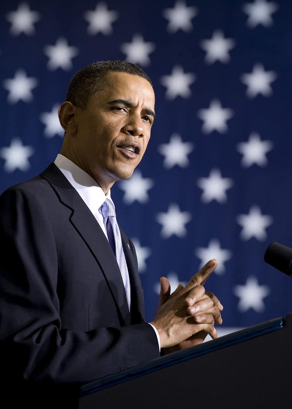 United States President Barack Obama speaks