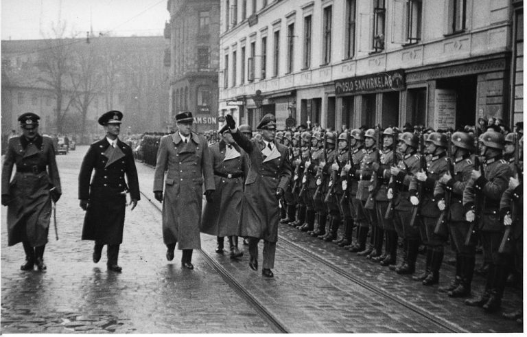 German occupation of Norway in the Second World War.
