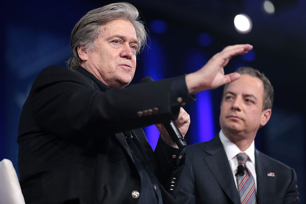 Chief White House Strategist Steve Bannon and Chief of Staff Reince Priebus